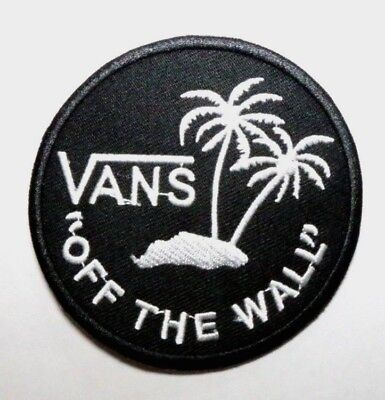 patch écusson Vans off the wall  noir