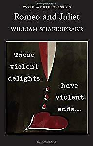 Romeo and Juliet (Wordsworth Classics), William Shakespeare, Used; Acceptable Bo