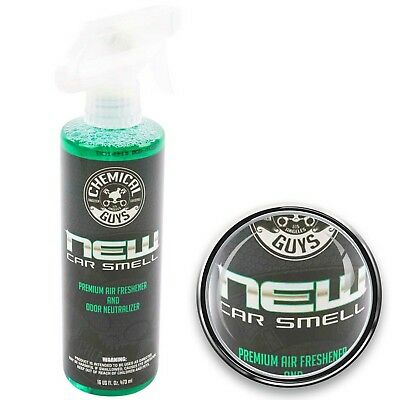 Chemical Guys New Car Scent Neuwagenduft Duftspray Cockpitspray 473ml