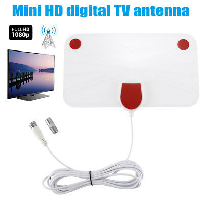 200 Mile Range Antenna TV Digital 1080P HD Skylink Digital Indoor HDTV 4K Antena
