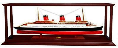 Hardwood display case for Ocean Liners/Cruise Ships 80cm