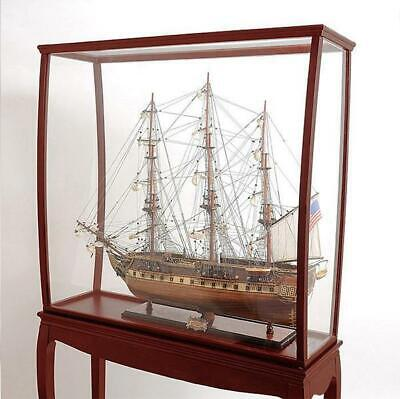 Hardwood display case for Tall Ships 95cm with legs