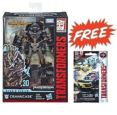 Transformers Generations Studio Series #30 Deluxe Crankcase + Tiny Turbo 01