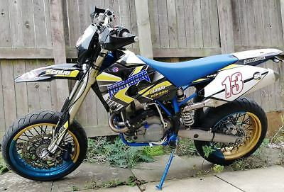 Husaberg FE 650 Supermoto 2003 – Off Road Wheels - Electric Start -Delivery Poss