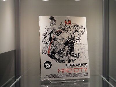 2000AD Judge Dredd The Mega Collection Mad City Issue 68 Spine 70 *2