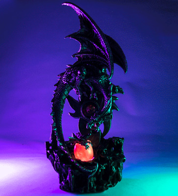 Purple Dragon with LED Egg