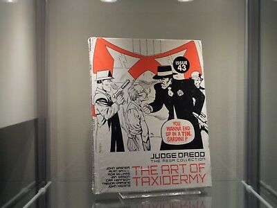 2000AD Judge Dredd The Mega Collection The Art Of Taxidermy Issue 43 Spine 72 *2