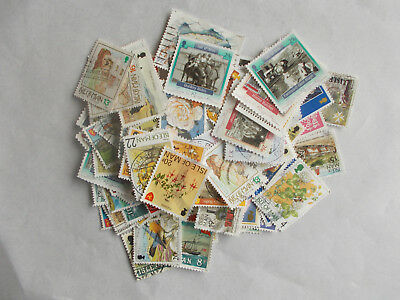 Over 100 Used Stamps from Isle of Man