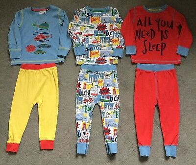 Next Boys Long Sleeve Pyjama Bundle 3 Pairs 18-24 Months