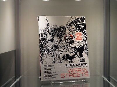 2000AD Judge Dredd The Mega Collection War On The Streets Issue 90 Spine 88 *2