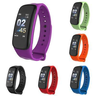 Smart Montre Bluetooth Pedometer Fréquence Cardiaque Sports Bracelet Android iOs