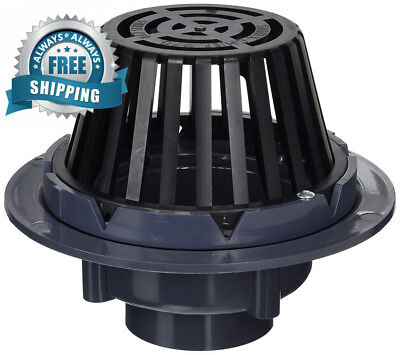 Soux Chief 867-P3 Pac Solvent Weld Roof Drain for Drainage Systems