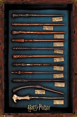 Harry Potter Wands Wizarding World Maxi Poster Print 61x91.5cm   24x36 inches