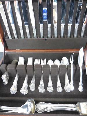 TOWLE French Provincial Sterling Silver Flatware Set - 83 Pieces