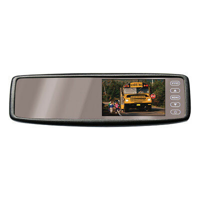 Pyle Plcm4300wi 4.3 Rearview Mirror Monitor Wireless Backup Camera & Remote
