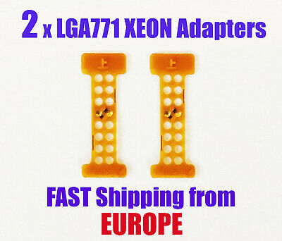2x LGA 771 to LGA775 Xeon Modification Sticker Adapters