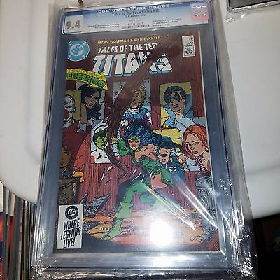 Tales of the Teen Titans #52 - 1st Appearance Cheshire, Azrael, CGC Graded 9.4