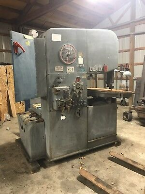 Doall Vertical Band Saw Model 2613-3