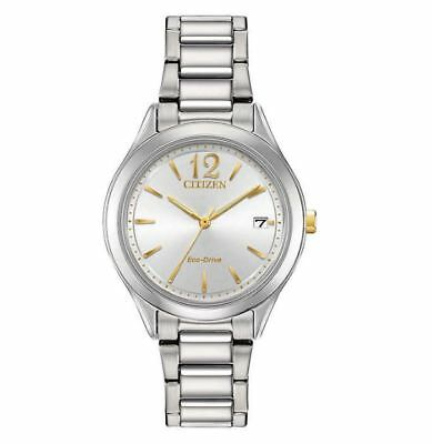 Citizen Women's Chandler Stainless Steel Eco-Drive Watch #FE6124-51A