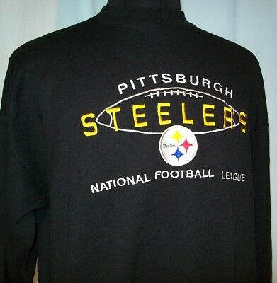 info for 514f1 71fe9 VINTAGE PITTSBURGH STEELERS SWEATSHIRT by Logo Athletic XL excellent!