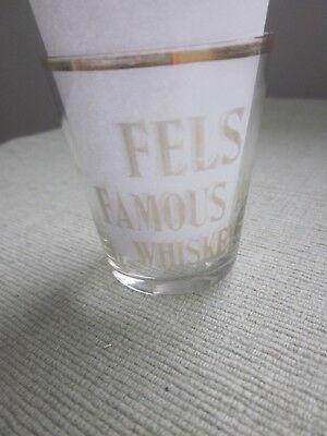 "Vintage Pre-Prohibition - ""fels Famous A-1 Whiskey"" 2 Oz Shot Glass"