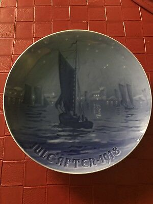 Vintage Royal Copenhagen Jules After 1918 Plate