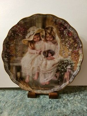 Love's Gentle Touch Plate by Sandra Kuck, Treasured Moments Collection, COA 3921