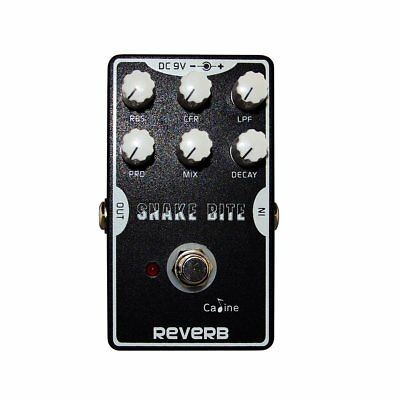 """Caline CP-26 """"Snake Bite"""" Reverb Guitar Effects Pedals US Seller"""