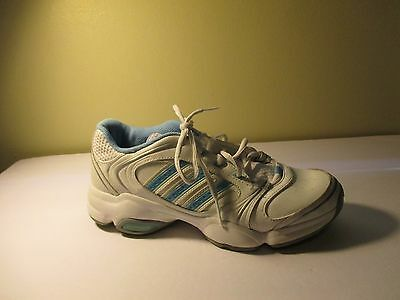 a7863e2ae5ca ADIDAS ADIPRENE WHITE BLUE Leather Athletic Shoes Womens 8.5 -  5.99 ...