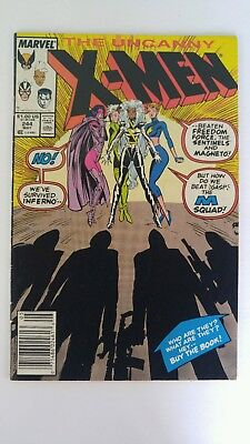 Uncanny X-Men #244 1st appearance of Jubilee FN condition