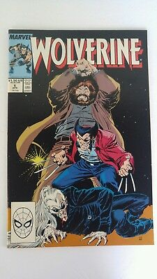 WOLVERINE #6 VERY FINE MARVEL COMICS (1988 1st SERIES)