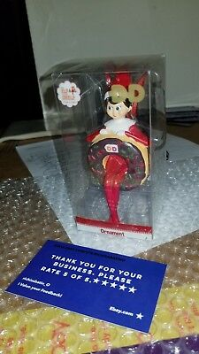 Dunkin Donuts Elf on the Shelf Ornament Holiday 2018 Chocolate New in Box (boy)