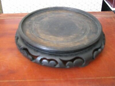 Vintage Chinese Wood Pot Stand