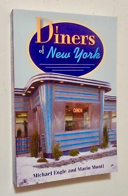 DINERS OF NEW YORK City & State 2008 Vintage Retro Classic ARCHITECTURE Guide