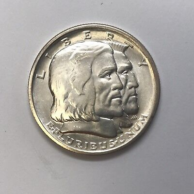 1936 Long Island Tercentenary Commemorative Half Dollar Uncirculated