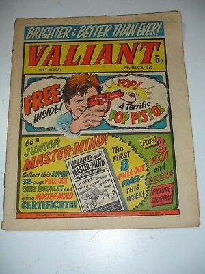 VALIANT comic 29th March 1975