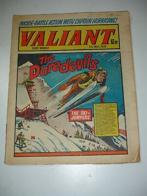 VALIANT comic 17th May 1975