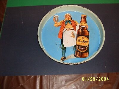 Rare Free State Beer Advertising Tray  Advertising Sign