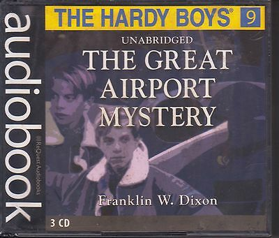 THE HARDY BOYS,  THE GREAT AIRPORT MYSTERY Audio Book