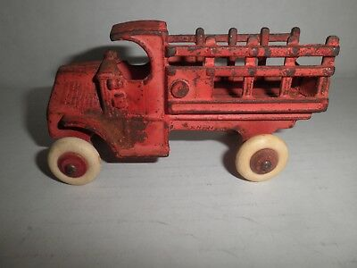 Nice old original cast iron Mack Truck with rubber wheels by Arcade c.1930's