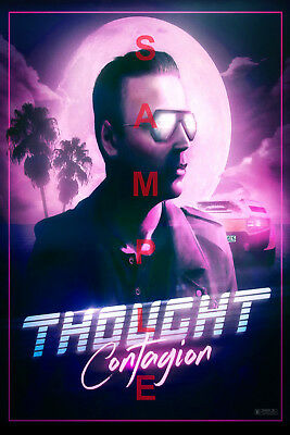 MUSE BAND 12x18 POSTER MATT BELLAMY SIMULATION THEORY THOUGHT CONTAGION VIDEO