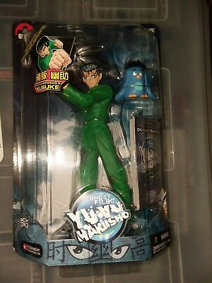 "Ghost FilesYu Yu Hakusho Jakks Pacific ""YuYu"" Figure + TRADE CARD GAME  NIB #2"