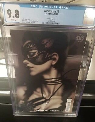 Catwoman 4 CGC 9.8 - Stanley Artgerm Lau variant - IN HAND, READY TO SHIP