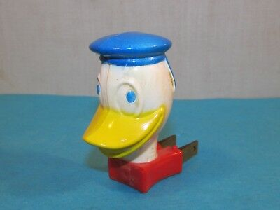 Vintage DONALD DUCK General Electric Plug In Night Light 1960s Working Condition