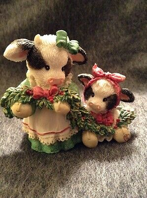 Mary's Moo Moos Deck The Halls With Cows Of Holly #651710 Christmas