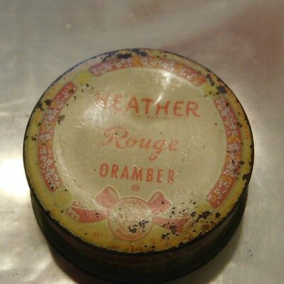 Heather Oramber Rouge Tin with contents