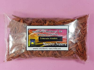 Incienso MADERA DE SANDALO ROJO Troceada / RED SANDALWOOD Chips Incense