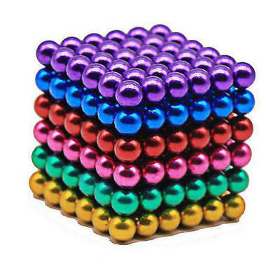 216Pcs Mini Puzzle Fridge Neodym Magnet 3mm Ball Bead Sphere Stress Reliefing US
