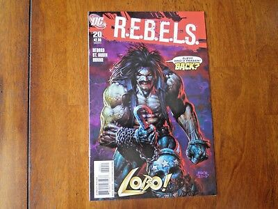 R.E.B.E.L.S. 20 Lobo David Finch Cover REBELS DC Comics VFN-