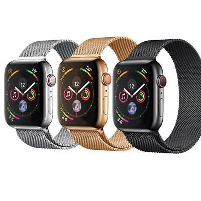 For Apple Watch Series 4 40/44M Milanese Loop Buckle Watch Strap Bracelet Band